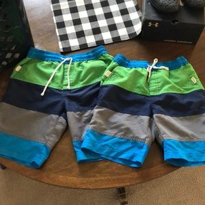 Set of 2 Hanna Anderson Swim Suit Size 120 and 110